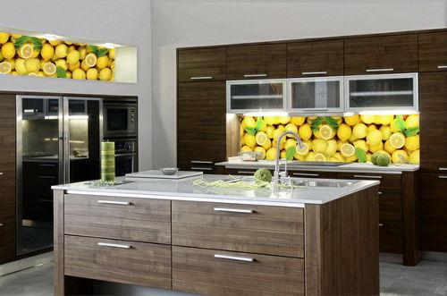 Fototapeta w kuchni - cytryny