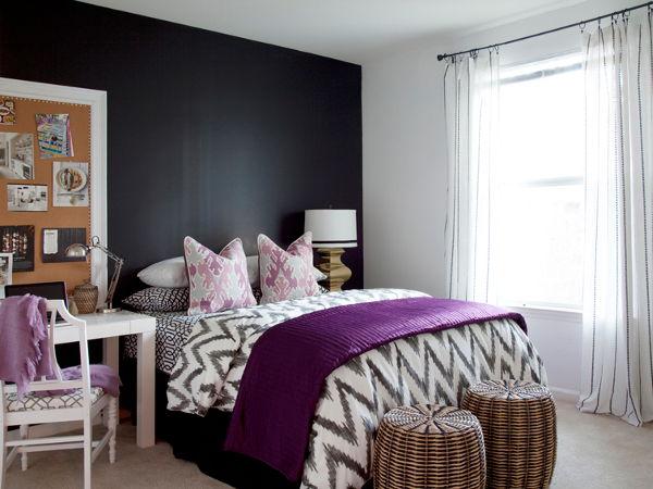 Kolory ścian w małej sypialni