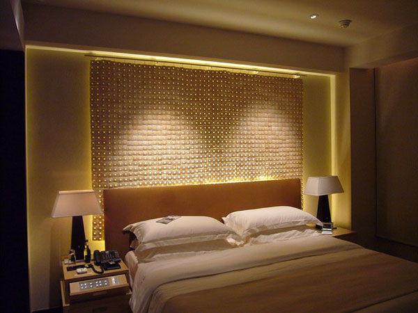 Oświetlenie w małej sypialni