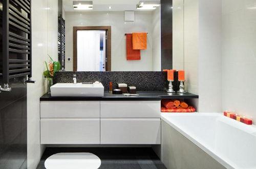 Aranżacja łazienki W Bloku Magazyn Housedecor